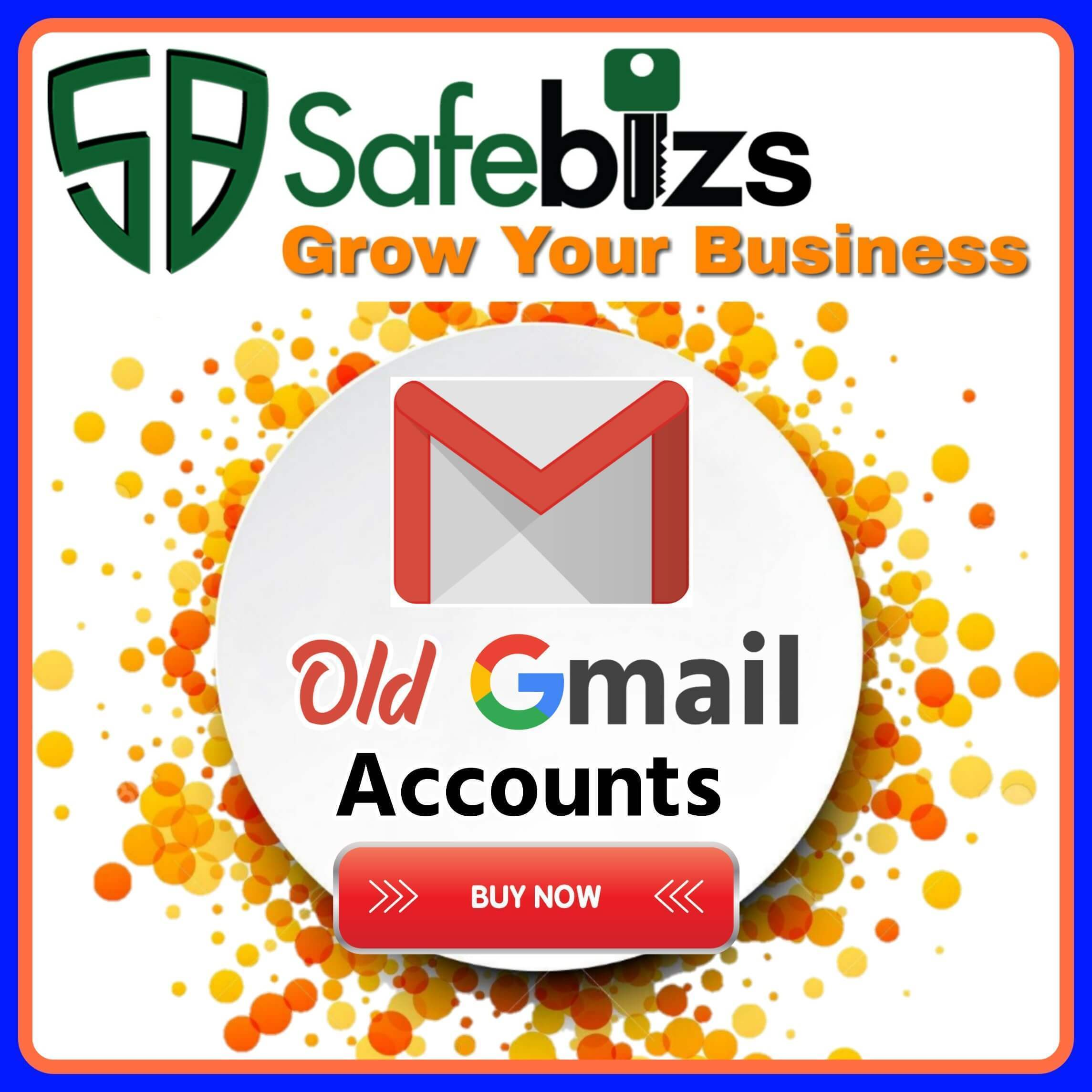Buy Old Gmail Accounts - 100% Real and Phone Number Verified