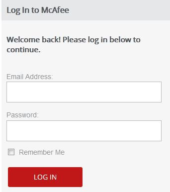 McAfee Login   McAfee Total Protection Login   McAfee Sign in