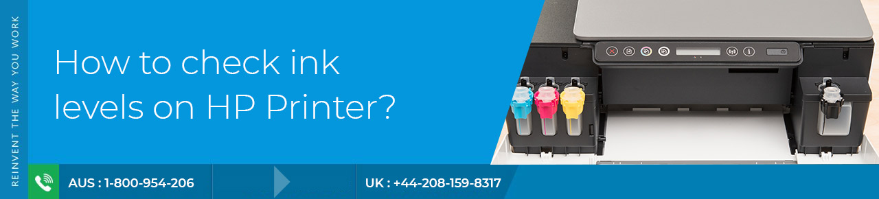 How to check ink levels on HP Printer? | HP Assistant
