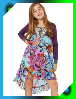 12 Best Girls Long Sleeve Dress for little princess that love the stylish look