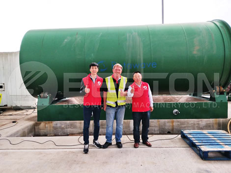 Rubber Recycling   Pyrolysis Plant - Leading Manufacturer